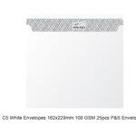 c5 envelopes white